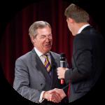 Nigel Farage v Praze